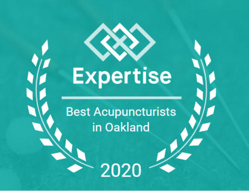Two Years in a Row! Oakland's Best Acupuncturists.